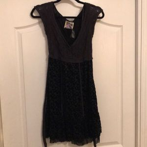 Free People Burnout Mini Dress